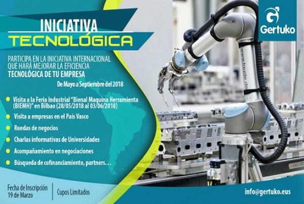 GERTUKO organiza iniciativa tecnológica internacional